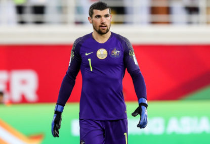 Brighton boss unconcerned by Mat Ryan's fitness