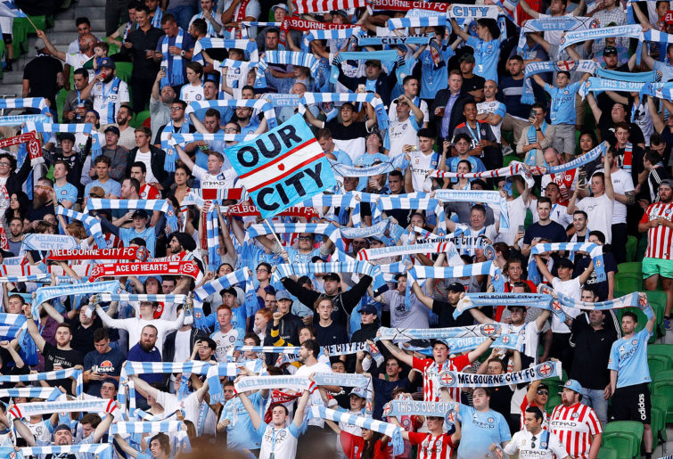 Melbourne City fans