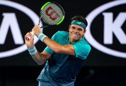 Stefanos Tsitsipas vs Milos Raonic: Australian Open tennis live scores