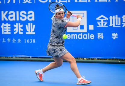 Sofia Kenin vs Ons Jabeur: Australian Open tennis live scores