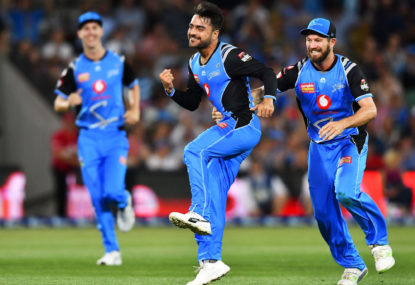 Adelaide Strikers vs Hobart Hurricanes: Big Bash League live scores, blog