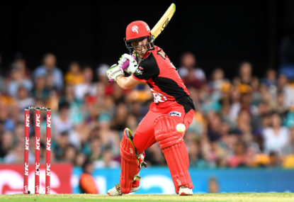 Renegades' BBL title defence is in massive trouble