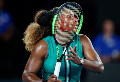 Why Serena Williams is losing her aura of invincibility