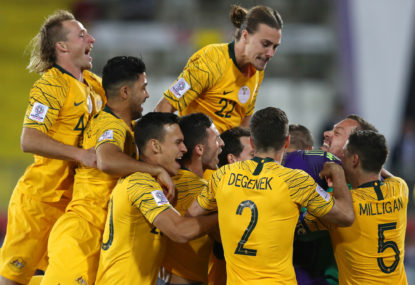 Socceroos hold on for crucial win over Jordan
