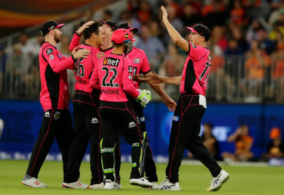 Sydney Sixers vs Adelaide Strikers: Big Bash live scores, blog
