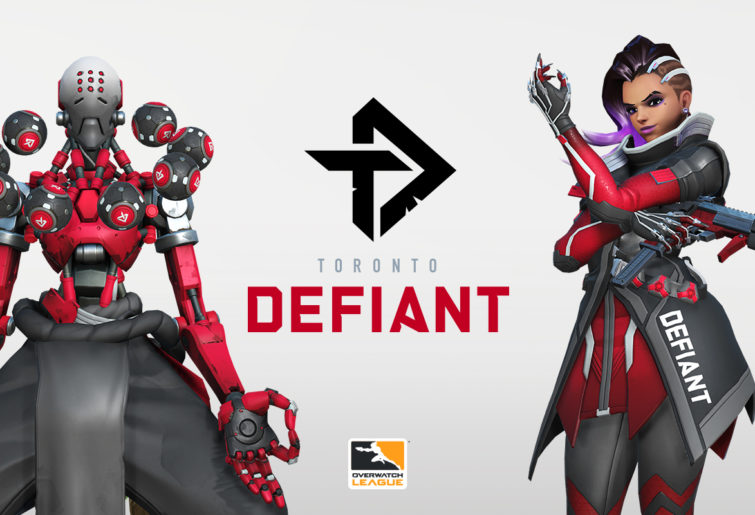 Zenyatta and Sombra in Toronto Defiant colours.