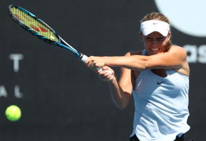Zoe Hives vs Caroline Garcia: Australian Open live scores, blog