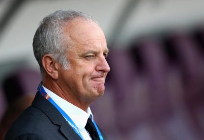 A three-goal win, but Graham Arnold has some tackle wrinkles to sort out for the Socceroos