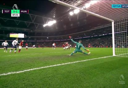 David de Gea leads United to victory with goal keeping clinic