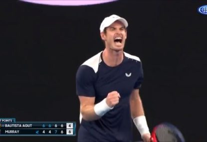 Andy Murray loses in five-set epic, but wins hearts everywhere