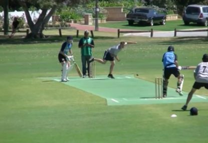 Local batsman channels inner AB de Villiers with absurd shot