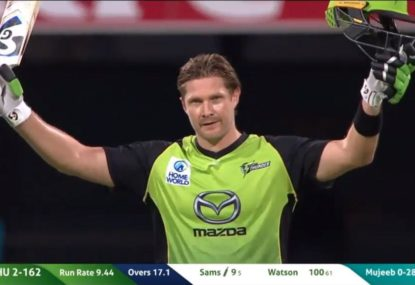 Watson hits the first ton of BBL 08
