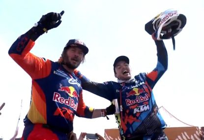 Aussie Toby Price overcomes fractured wrist to win 2019 Dakar rally