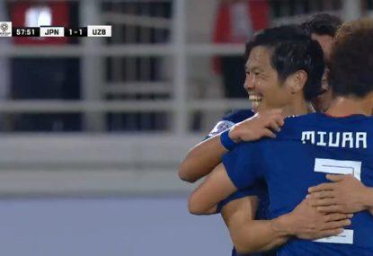 Japan midfielder's rocket decides Socceroos' next opponent