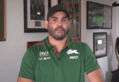 Greg Inglis' heartfelt message to fans after announcing retirement