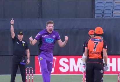 James Faulkner takes 3/1 to annihilate Scorchers' top order