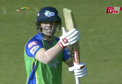David Warner's destructive knock in the BPL