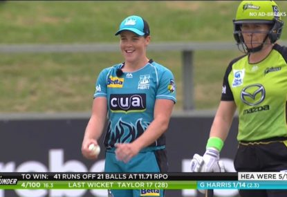Brisbane Heat spinner continually produces player-mic gold