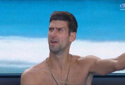 Farcical lights-on RLA decision enrages Novak Djokovic