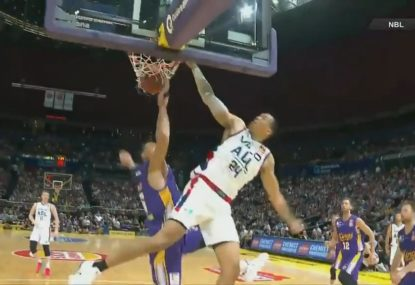 The dunk even Andrew Bogut was powerless to stop
