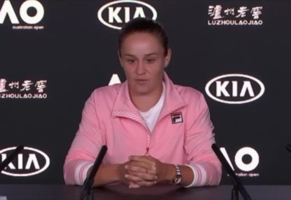 Barty: 'My ears were ringing'