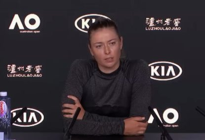 'That's a silly question': Sharapova's tense exchanges with journalists