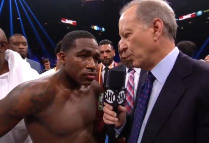 'I'd be 7-0 against you': Fighter's heated interview after losing to Manny Pacquiao
