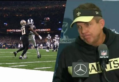 Saints coach says officials told him refs 'blew the call' in controversial loss