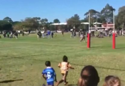Five-year old female rugby sensation is simply amazing
