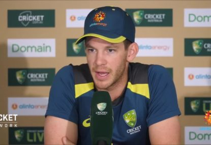 Tim Paine hoping for 'nice and fast' Gabba deck for 1st Test