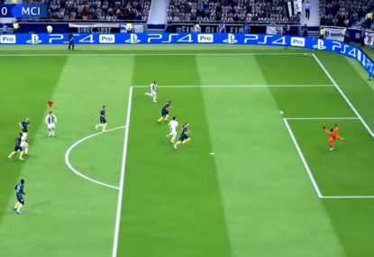 FIFA magician puts on juggling masterclass and fires it home