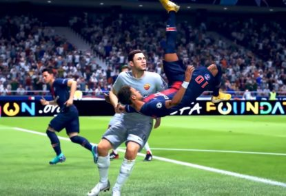 MINDBLOWING rainbow-bicycle combo gifts us one of the best FIFA goals ever!