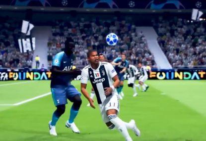 FIFA genius opens up his bag of tricks to score hypnotic goal