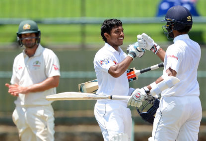 Sri Lanka defy odds to pull off one of the biggest heists in Test cricket