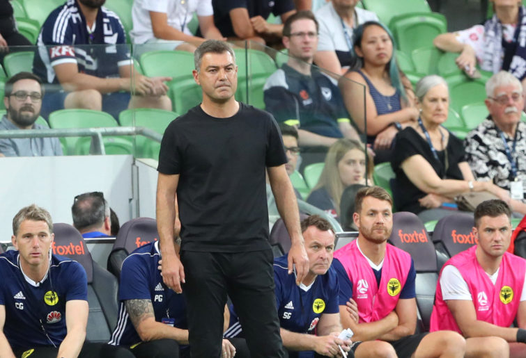 Wellington Phoenix coach Mark Rudan