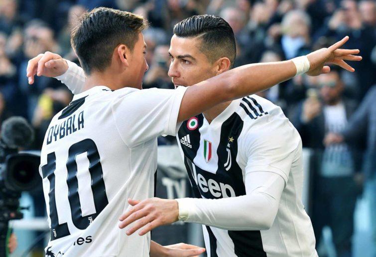 Juventus's Cristiano Ronaldo