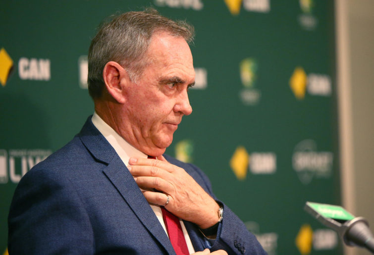 Trevor Hohns, Australia's chairman of selectors