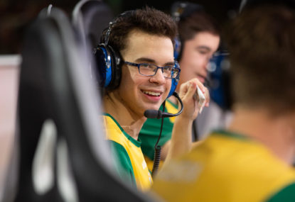 One of Australia's brightest young esports stars discusses his whirlwind year