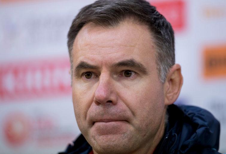 Team Australia manager Ante Milicic