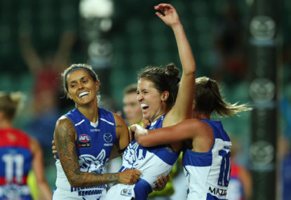 North Melbourne Kangaroos vs Adelaide Crows: Adelaide give North their first loss
