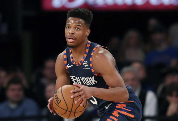 New York Knicks guard Dennis Smith Jr