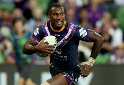 Storm stamp authority at top of NRL with thrashing of Knights