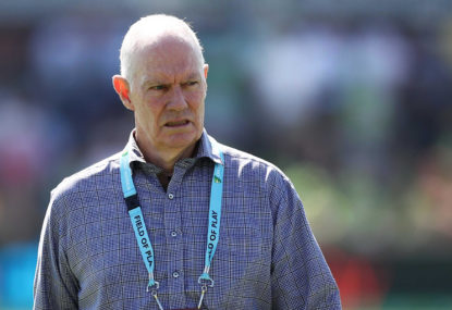 Greg Chappell saw the writing on the wall, and hopefully the mess his panel has made this summer