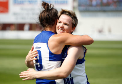 What could an all-AFLW cricket XI look like?