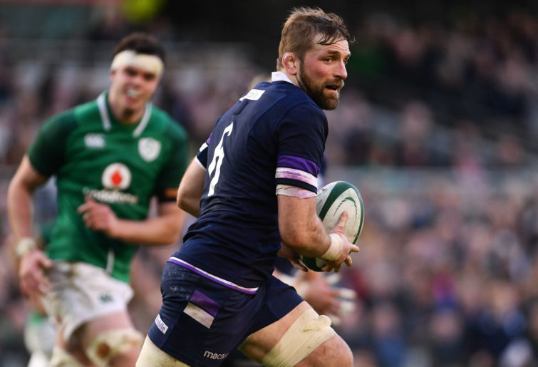 John Barclay Scotland Rugby Union