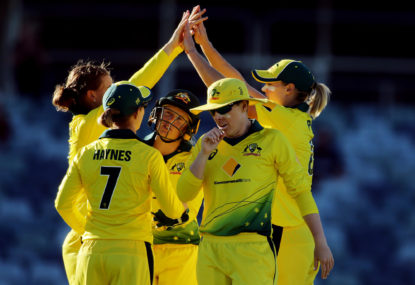 Aussies demand DRS in women's Ashes