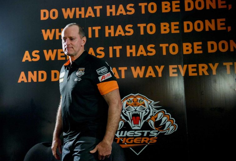 New Tigers coach Michael 'Madge' Maguire