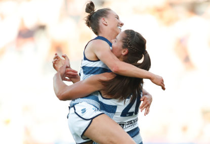 How the Kangaroos, Cats and Eagles are faring in AFLW