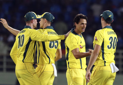 Analysis of Australia's ODI performances and World Cup history