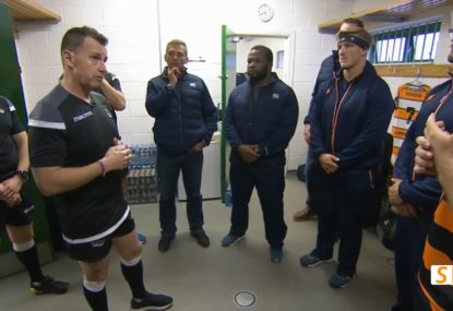 Awesome insight into Nigel Owens' pre-game chats with teams